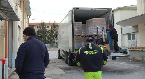 Il cibo di qualità donato alle famiglie bisognose, da Campagna Amica arrivano 18mila chili di pasta 100% Made in Italy