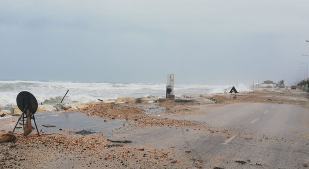 Marina di Montemarciano, emergenza erosione