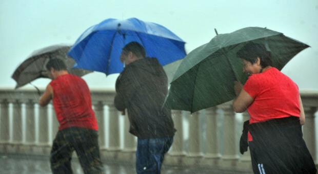 Arriva il maltempo: sulle Marche due giorni di temporali e ...