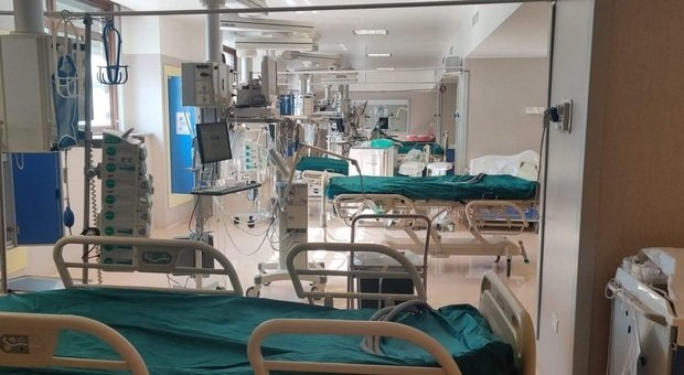 Un reparto dell'ospedale, foto d'archivio