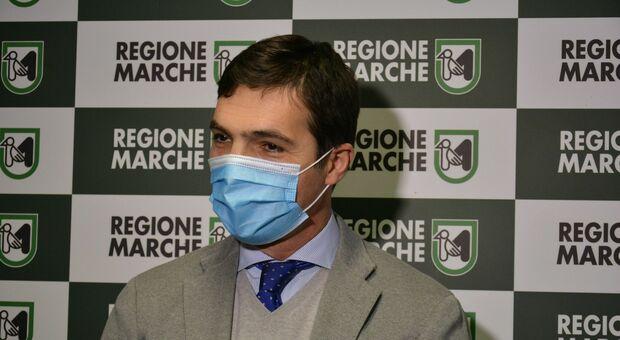 Il presidente della Regione Marche Francesco Acquaroli