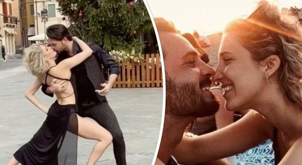 Ballando con le stelle, il tango bollente dei neo fidanzati Lucrezia Lando e Marco De Angelis fa impazzire i fan