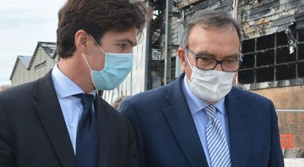 Francesco Acquaroli e Rodolfo Giampieri