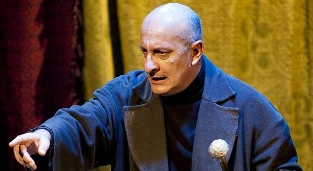 L attore siciliano d origine e tolentinate di adozione, Giovanni Moschella