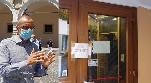 Pesaro, proteste anti Dpcm, furia sindaco contro il ristoratore ribelle: «L'ha fatto solo per farsi pubblicità»