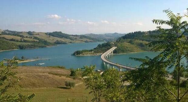Il lago Castreccioni di Cingoli
