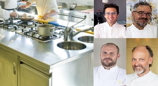 Cosa bolle nella pentola dei grand chef stellati delle Marche: «Cambieremo noi e i nostri ristoranti»