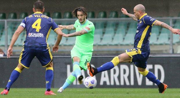 Verona-Lazio 0-1: al 92' sbuca Milinkovic e i biancocelesti rimangono agganciati alla Champions