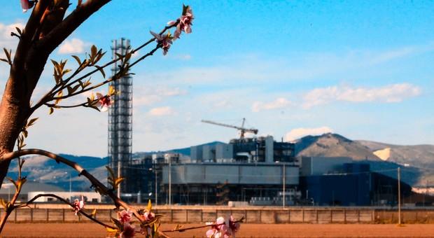 Nella foto di repertorio l'impianto di un inceneritore