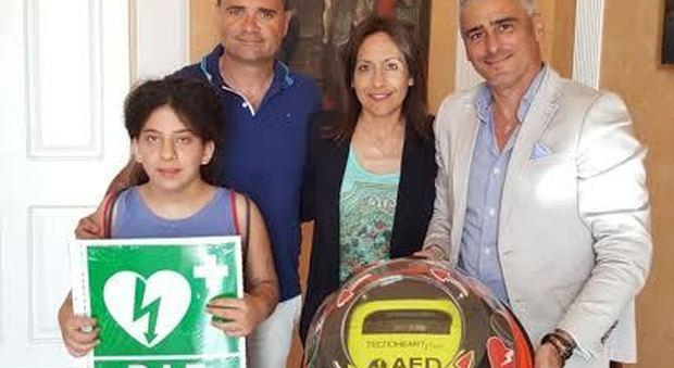 La famiglia Serroni con il sindaco Loira