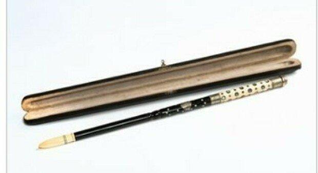 La baguette de chef d orchestre , anteriore al 1868, appartenuta a Gioachino Rossini