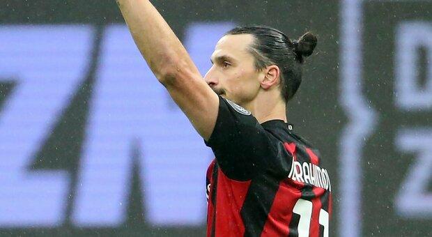 Milan, segna Ibrahimovic contro il Crotone e ora sono 500 i gol con i club