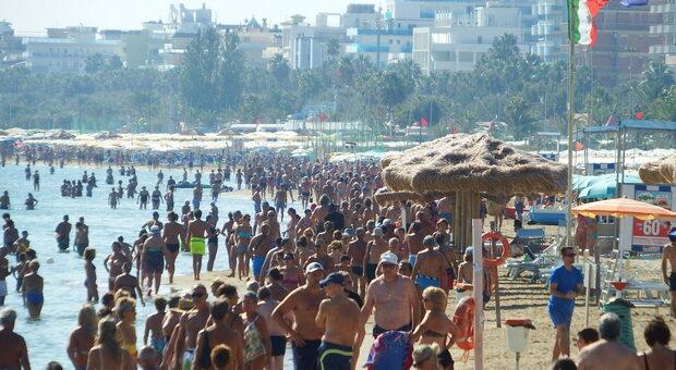 La spiaggia sambenedettese