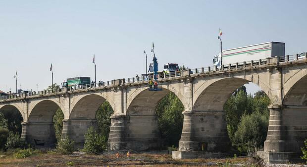 Il ponte di Vidor dove si è consumata la tragedia