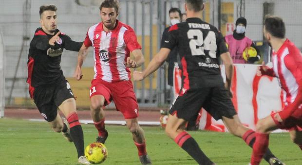 Davide Balestrero durante Matelica-Vis Pesaro terminata 1-1