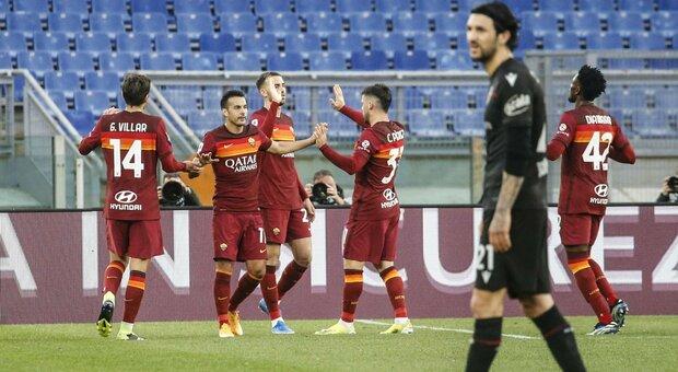 Roma-Bologna 1-0: basta e avanza Mayoral. I giallorossi ritrovano il successo in campionato