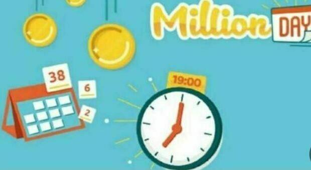 Million Day, alle 19 l'estrazione dei numeri vincenti di oggi, venerdì 30 luglio