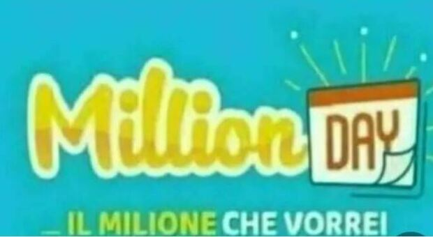 Million Day, l'estrazione dei numeri vincenti del 25 luglio 2021