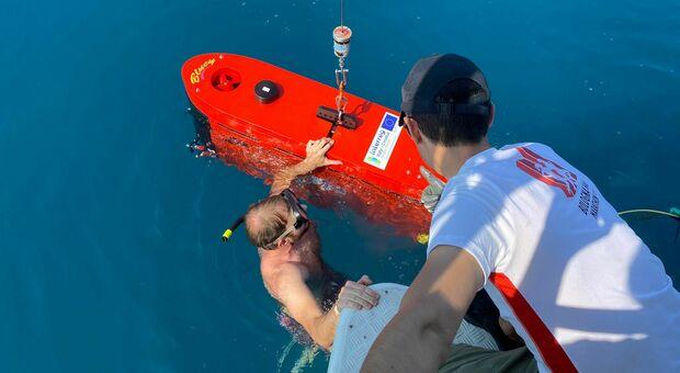 In mare c è Blucy, il drone che studia i fondali anche a più di 200 metri di profondità