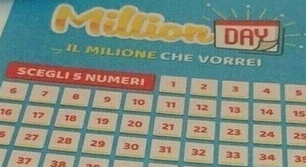 Million Day, i numeri vincenti di oggi domenica 21 febbraio 2021