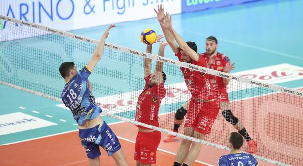 La Lube trionfa a Trento e rimette le cose a posto, la semifinale è sull'1-1