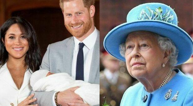 Harry e Meghan, la regina Elisabetta non è stata informata sulla scelta del nome Lilibet in suo onore. Ecco come ha reagito