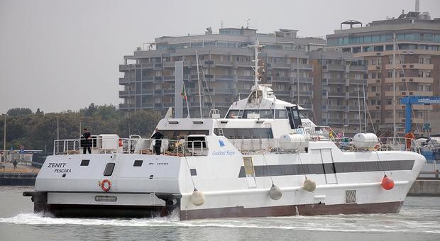 Il catamarano utilizzato nel 2018