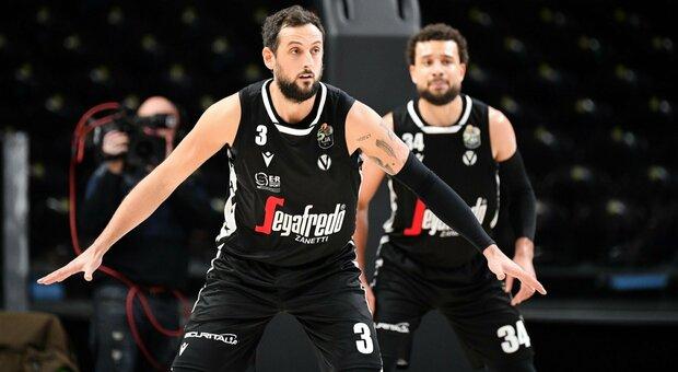 Brindisi e Virtus Bologna danno spettacolo. Varese vince con il cuore