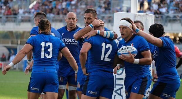 La Nazionale di rugby a San Benedetto: era agosto dell'anno scorso