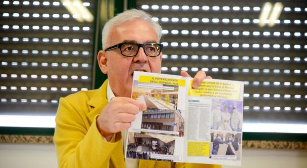L'ex sindaco Romano Carancini oggi consigliere regionale