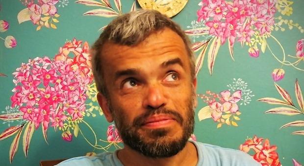 L'attore e regista Claudio Gaetani