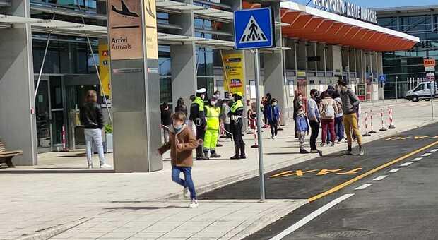 L'aeroporto delle Marche a Falconara Marittima
