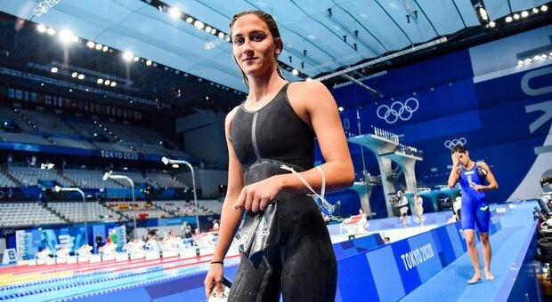 Simona Quadarella, una medaglia di bronzo per l'eredità di Federica Pellegrini
