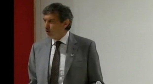 Il governatore dell'Abruzzo Marco Marsilio