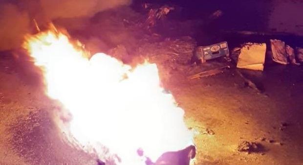 L'incendio