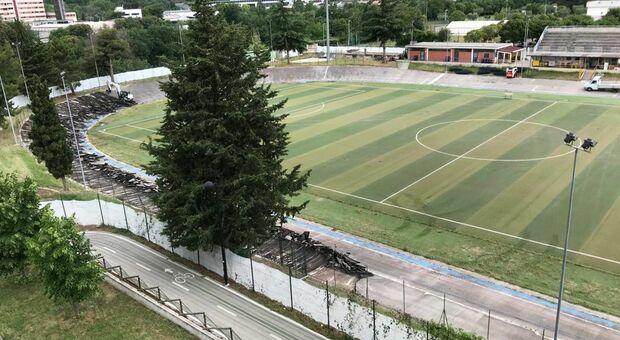 Il campo sportivo di Monticelli