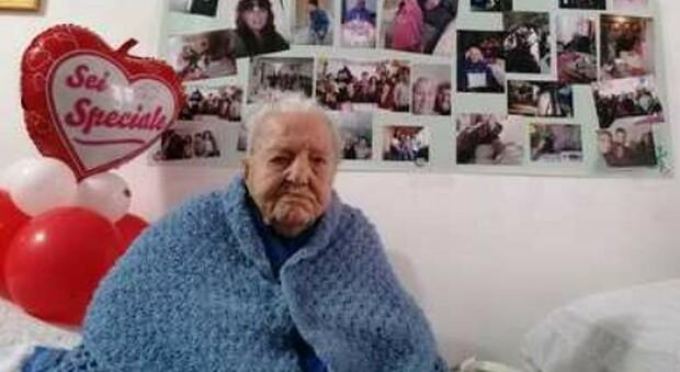 Morta Marietta Oliva, la nonna più anziana d'Italia: aveva 112 anni e viveva a Enna