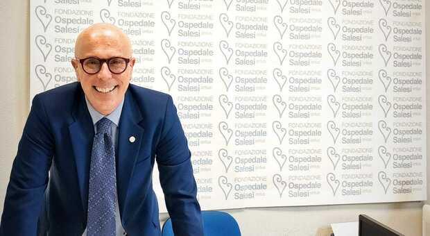 Il direttore amministrativo degli Ospedali Riuniti Antonello Maraldo