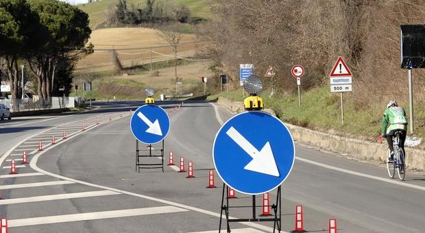 La strada delle Siligate a Pesaro