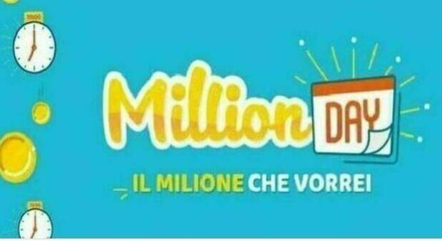 Million Day, segui in diretta l'estrazione dei cinque numeri vincenti del 20 luglio 2021