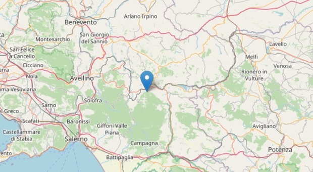 Terremoto a Nusco di magnitudo 3.3: torna la paura nelle aree colpite dal sisma del 1980