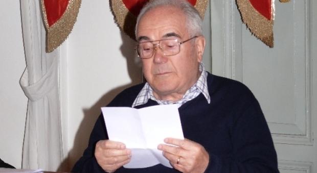 Si è spento Mario Petrelli, il sindaco: «Lo ricorderemo in pubblico con una lettura delle sue opere»