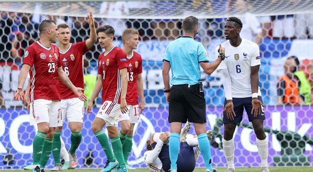 Ungheria-Francia 1-0 live