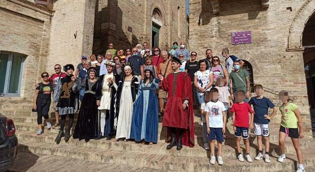 Boom di turisti per la festa del Plein Air: Protagonisti anche i figuranti del Palio. Un ricco programma di iniziative