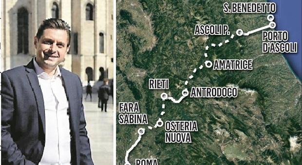 Ferrovia dei Due Mari, si apre uno spiraglio a Roma: il sindaco in missione al Ministero