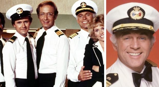 Morto Gavin MacLeod, il capitano Stubind di Love Boat : aveva 90 anni