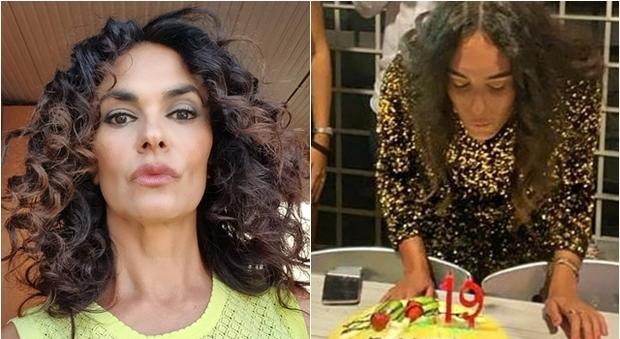 Maria Grazia Cucinotta, gli auguri social per i 19 anni della figlia: «Ti amissimo»