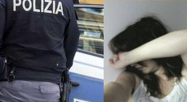 La polizia ha salvato una donna dalle violenze del marito