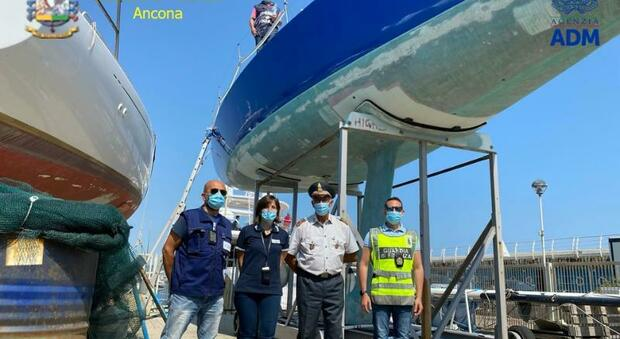 Il proprietario non paga l'Iva: sotto sequestro al cantiere la sua barca a vela da 70mila euro