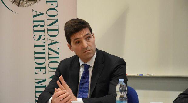 Francesco Acquaroli, presidente della giunta regionale delle Marche